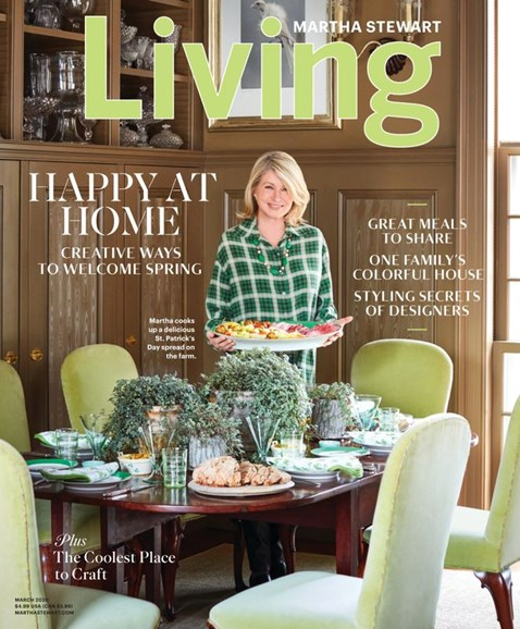 Martha Stewart Living Cover - 3/1/2020