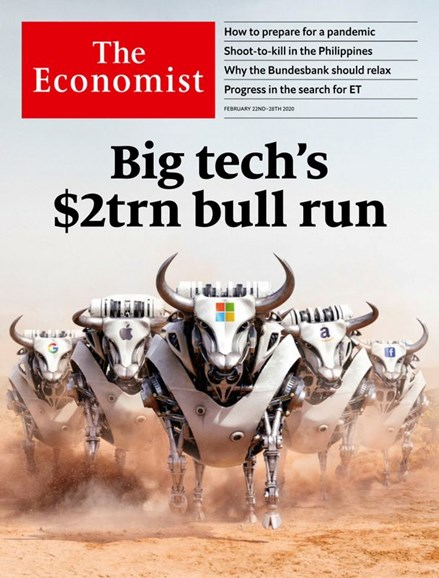 The Economist Cover - 2/22/2020
