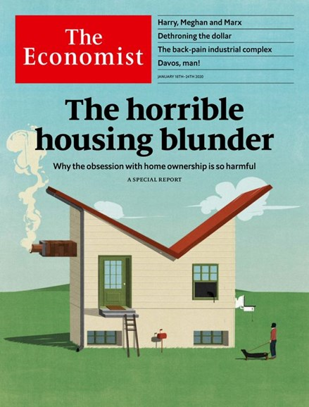 The Economist Cover - 1/18/2020