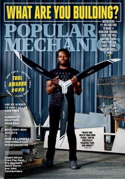 Popular Mechanics Cover - 3/1/2020
