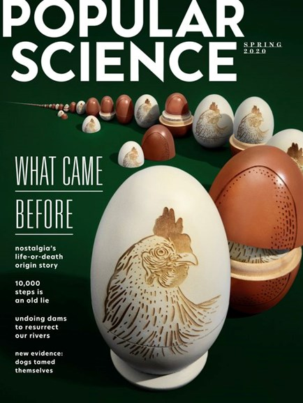Popular Science Cover - 3/1/2020