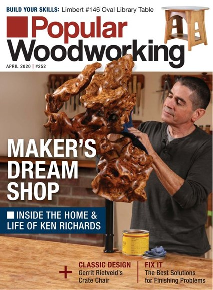 Popular Woodworking Cover - 4/1/2020
