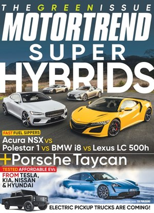 Motor Trend Magazine | 4/2020 Cover