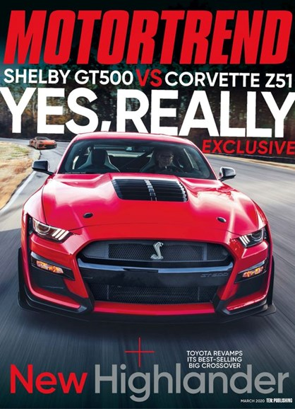 Motor Trend Cover - 3/1/2020
