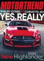 Motor Trend Magazine | 3/2020 Cover