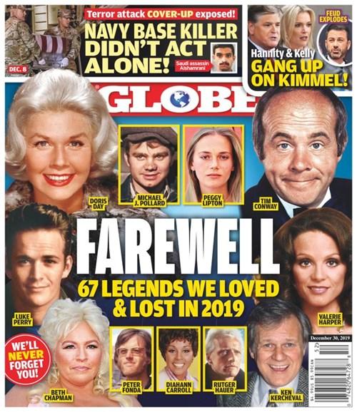 Globe Cover - 12/30/2019