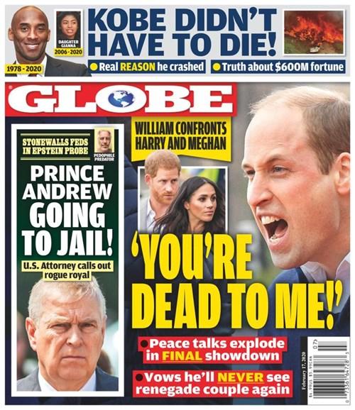 Globe Cover - 2/17/2020