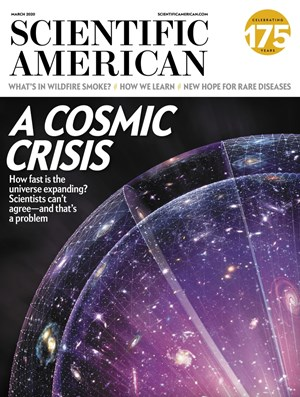 Scientific American Magazine | 3/2020 Cover