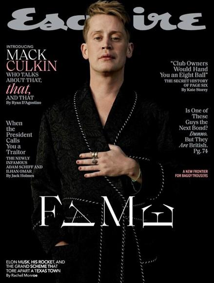 Esquire Cover - 3/1/2020