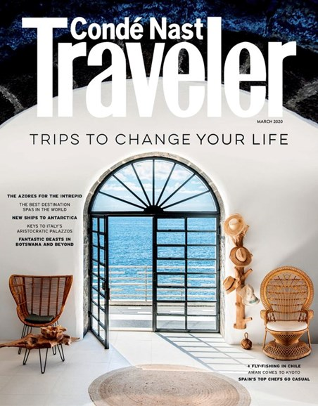 Condé Nast Traveler Cover - 3/1/2020