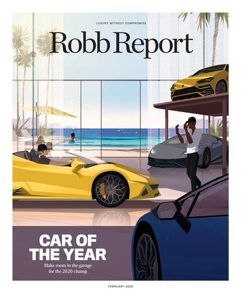 Robb Report Cover - 2/1/2020