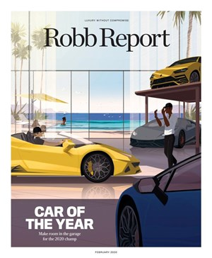 Robb Report Magazine | 2/2020 Cover