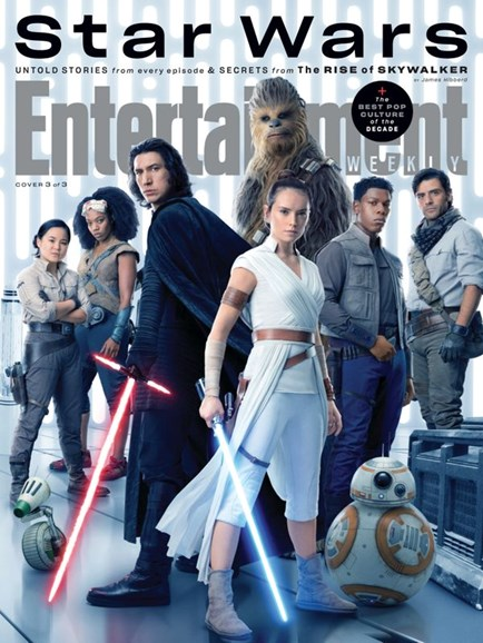 Entertainment Weekly Cover - 12/1/2019
