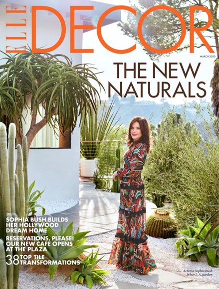 ELLE DECOR Cover - 3/1/2020