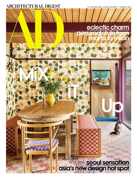 Architectural Digest Cover - 2/1/2020