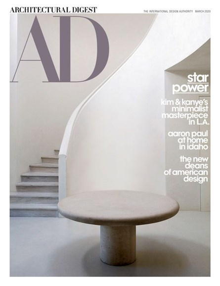 Architectural Digest Cover - 3/1/2020