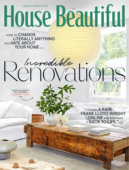 House Beautiful Cover - 1/1/2020
