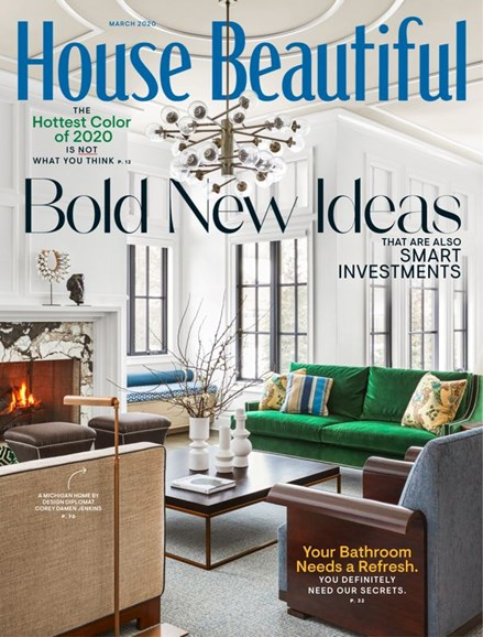 House Beautiful Cover - 3/1/2020