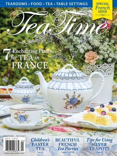Tea Time Magazine   3/2020 Cover