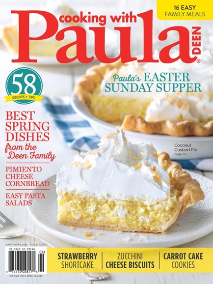 Cooking With Paula Deen Cover - 3/1/2020