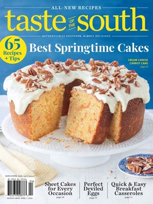 Taste Of The South Magazine | 3/2020 Cover