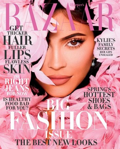 Harper's Bazaar Cover - 3/1/2020