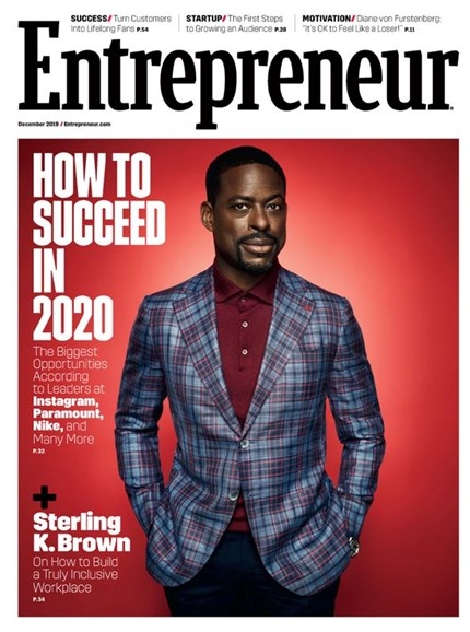 Entrepreneur Cover - 12/1/2019