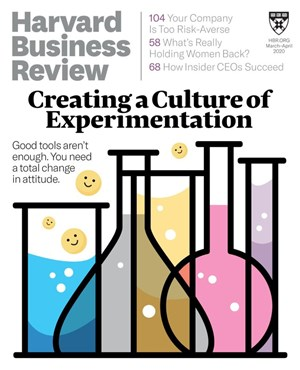 Harvard Business Review Magazine | 3/1/2020 Cover
