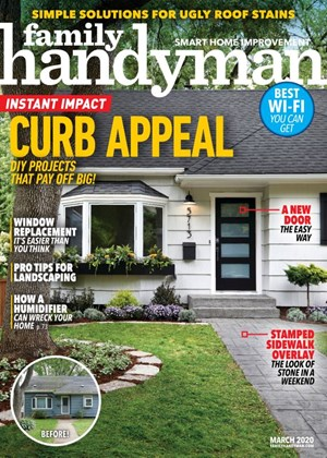 Family Handyman Magazine | 3/1/2020 Cover