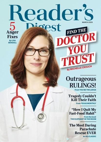 Reader's Digest Cover - 3/1/2020