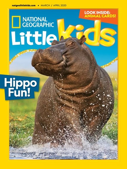 National Geographic Little Kids Cover - 3/1/2020