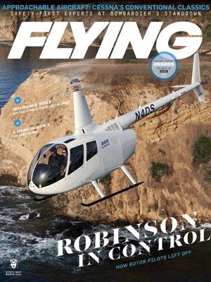 Flying Magazine | 3/2020 Cover