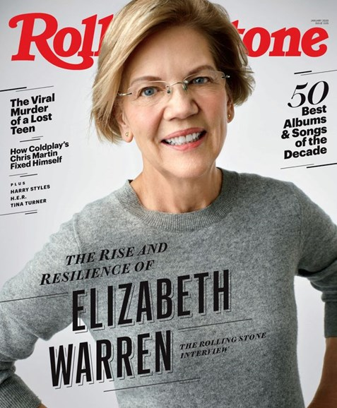 Rolling Stone Cover - 1/1/2020