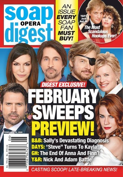 Soap Opera Digest Cover - 2/10/2020