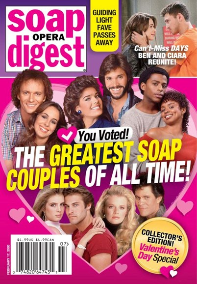 Soap Opera Digest Cover - 2/17/2020