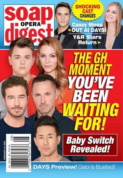 Soap Opera Digest Cover - 2/24/2020