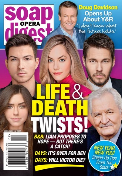 Soap Opera Digest Cover - 1/13/2020