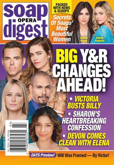 Soap Opera Digest Cover - 1/20/2020