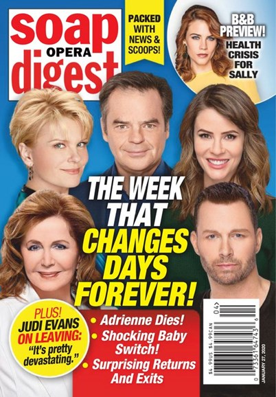 Soap Opera Digest Cover - 1/27/2020