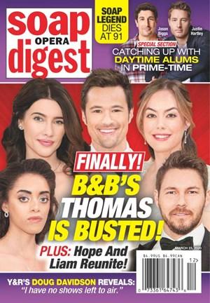 Soap Opera Digest Magazine | 3/23/2020 Cover