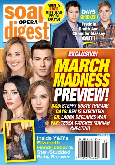Soap Opera Digest Cover - 3/9/2020