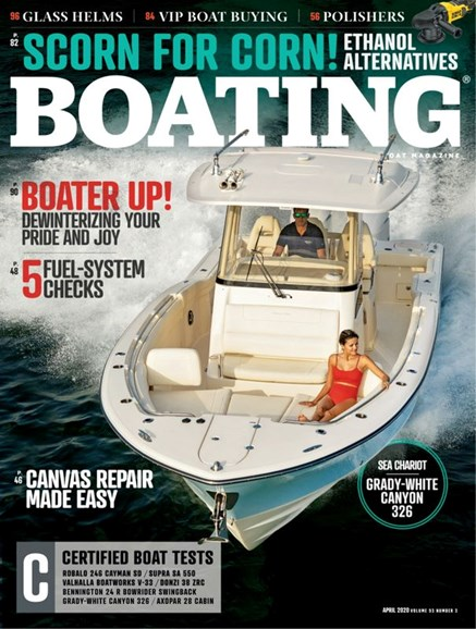 Boating Cover - 4/1/2020