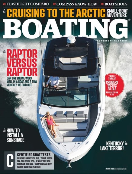 Boating Cover - 3/1/2020