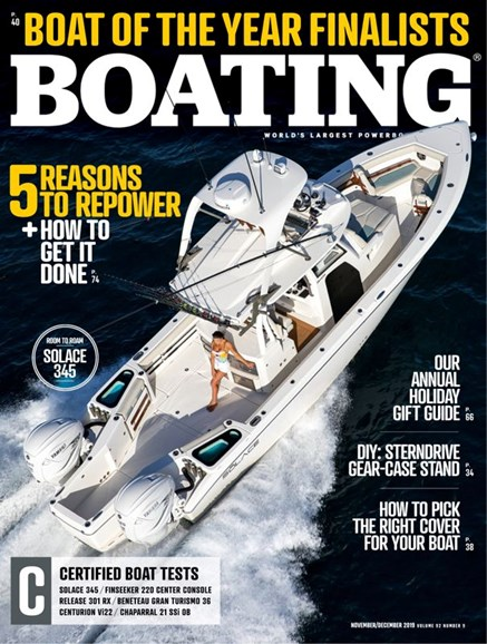 Boating Cover - 11/1/2019