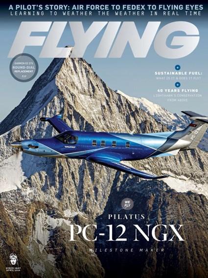 Flying Magazine | 4/2020 Cover
