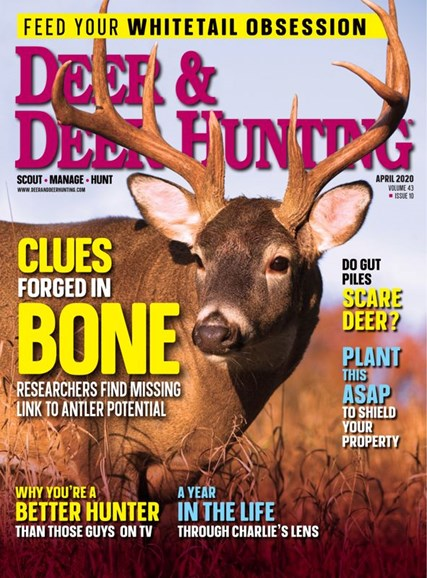 Deer & Deer Hunting Cover - 4/1/2020