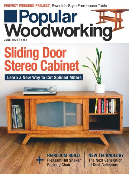 Popular Woodworking Cover - 6/1/2020