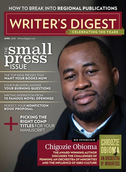 Writer's Digest Cover - 4/1/2020