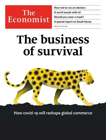The Economist Cover - 4/11/2020