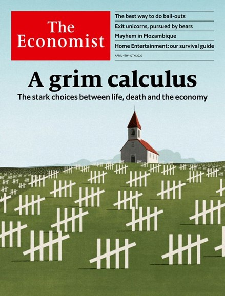 The Economist Cover - 4/4/2020